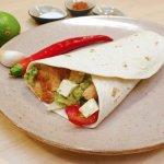 Chickenwrap mit Guacamole