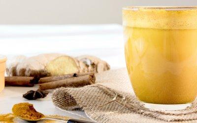 Goldene Milch – gesund durch den Winter